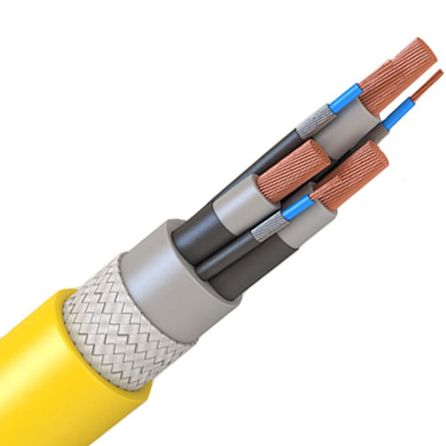 Шахтный кабель 3x6 мм КОГРЭШ ГОСТ 31945-2012